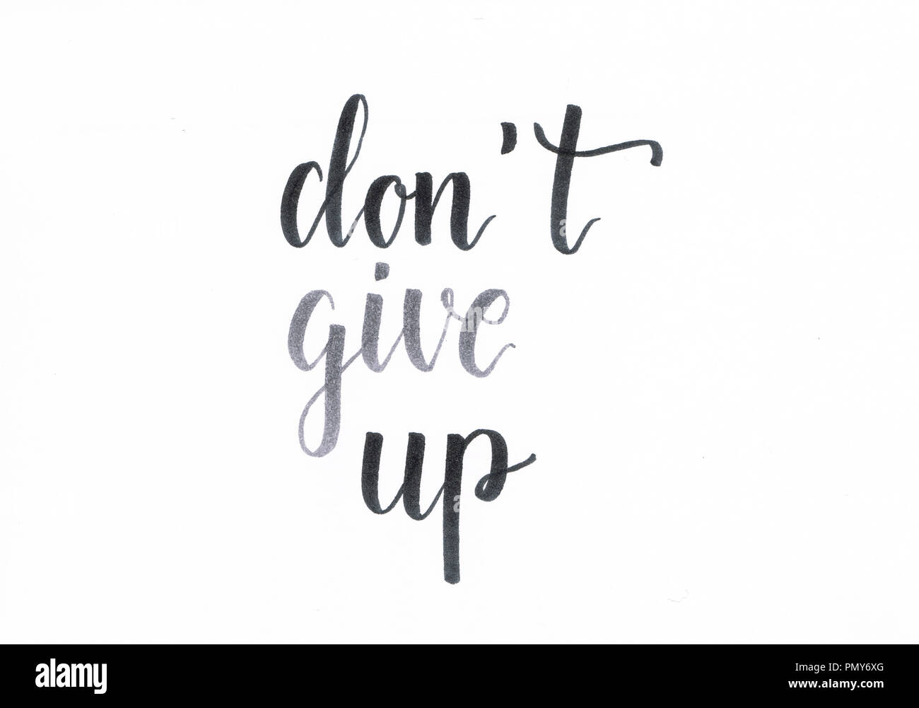 Dont Give Up Stock s & Dont Give Up Stock Alamy