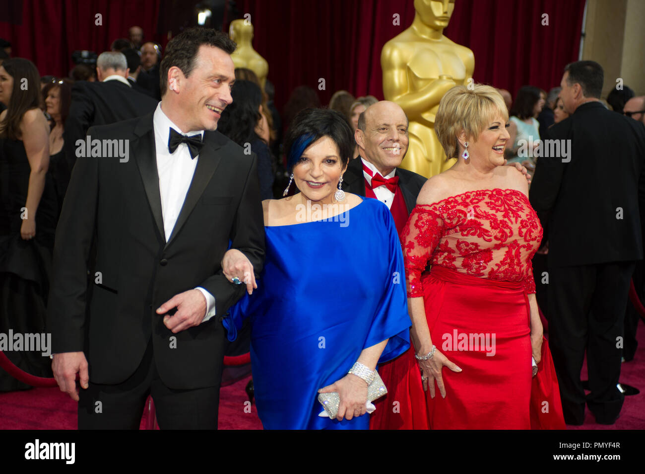 Liza Minnelli and guests arrive for the live ABC Telecast of The 86th Oscars® at the Dolby® Theatre on March 2, 2014 in Hollywood, CA.  File Reference # 32268_119  For Editorial Use Only -  All Rights Reserved - Stock Image