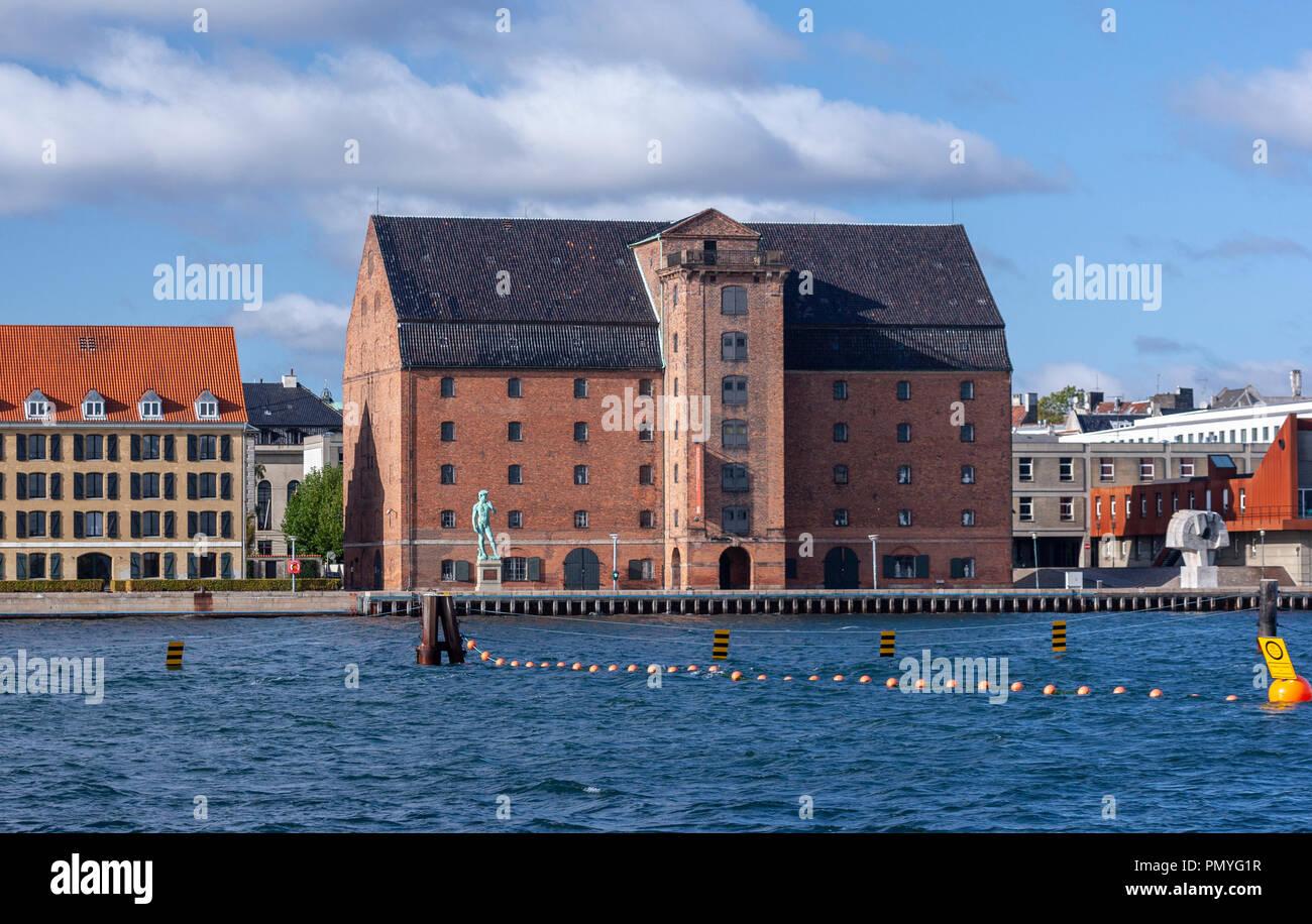 Den Kongelige Afstøbningssamling, Toldbodgade, København, Denmark - Stock Image