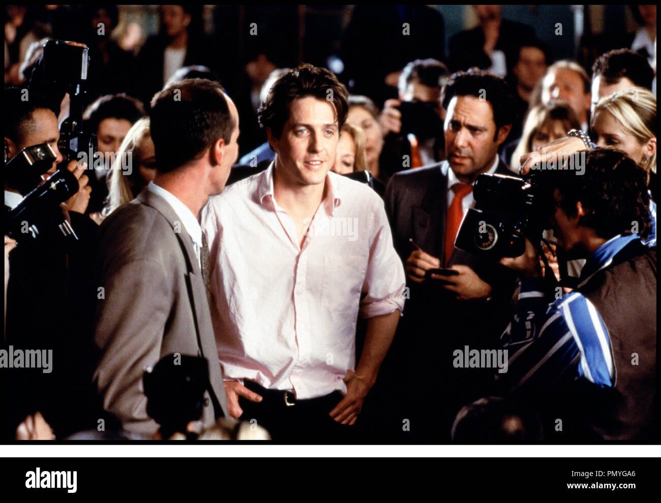 Prod DB © PolyGram - Working Title / DR COUP DE FOUDRE A NOTTING HILL (NOTTING HILL) de Roger Michell 1999 GB avec Hugh Grant paparazzi, medias, journalistes, star, celebrite, harcelement - Stock Image