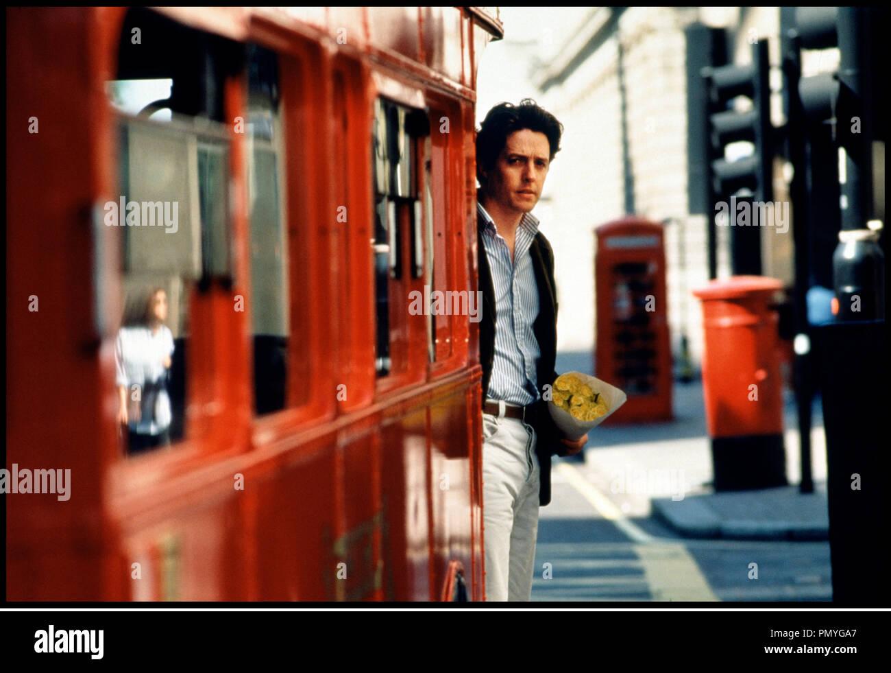 Prod DB © PolyGram - Working Title / DR COUP DE FOUDRE A NOTTING HILL (NOTTING HILL) de Roger Michell 1999 GB avec Hugh Grant fleur, bouquet, rendez-vous, attente - Stock Image