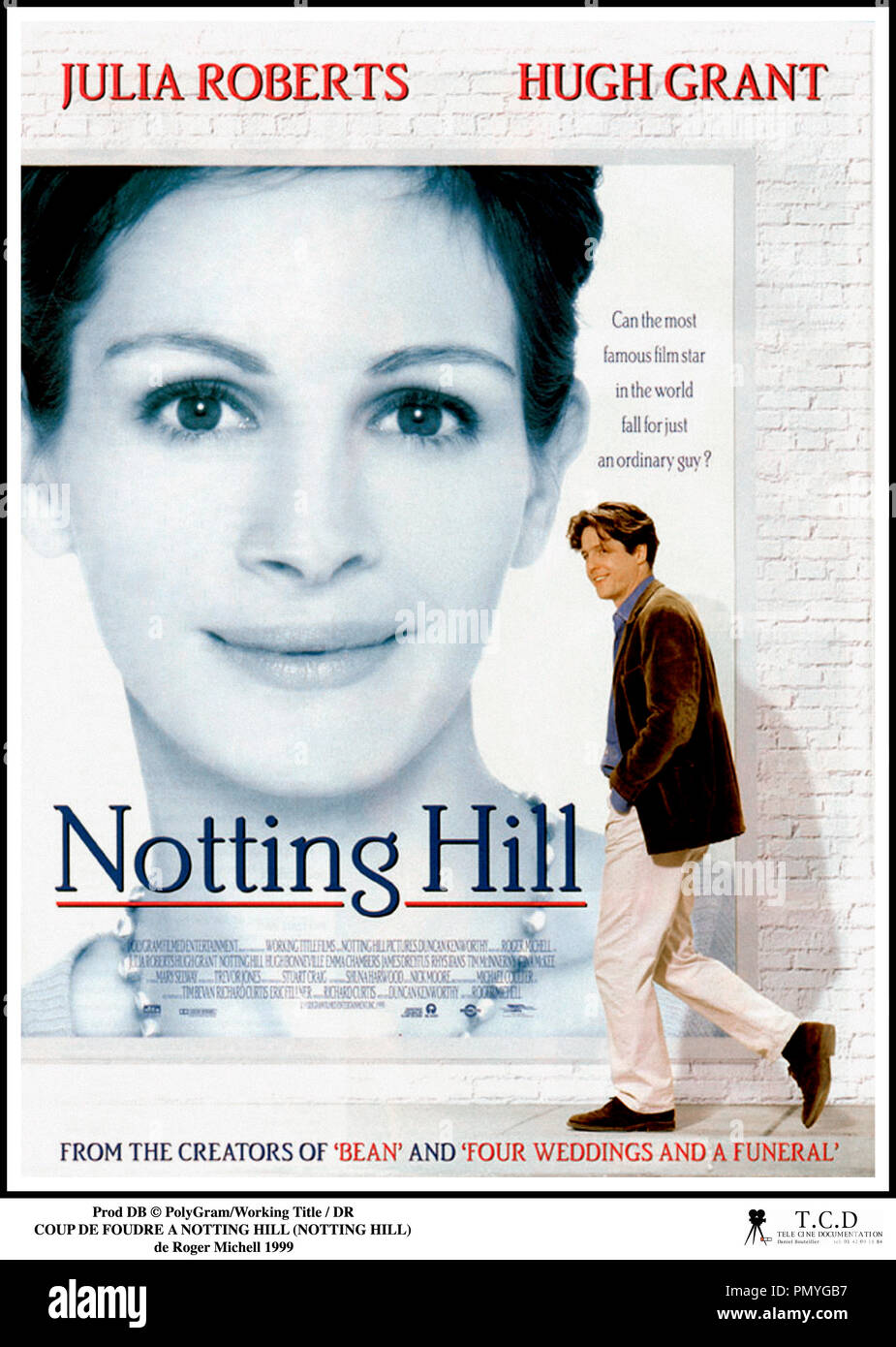 Prod DB © PolyGram/Working Title / DR COUP DE FOUDRE A NOTTING HILL (NOTTING HILL) de Roger Michell 1999 GB affiche - Stock Image
