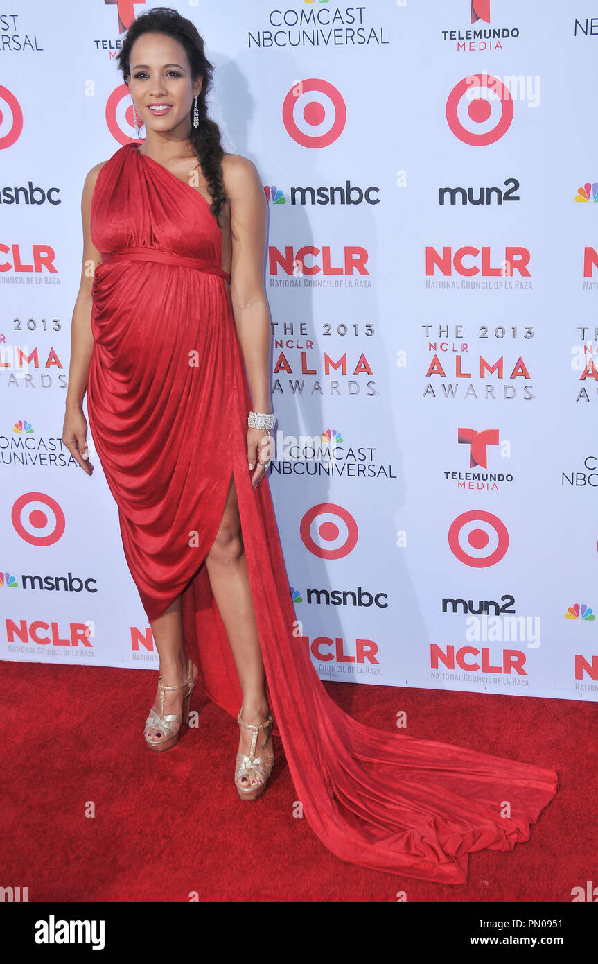 Dania Ramirez at The 2013 NCLR ALMA Awards held at the Pasadena Civic Auditorium in Pasadena, CA. The event took place on Friday, September 27, 2013. Photo by PRPP PRPP / PictureLux  File Reference # 32132 039PRPP01  For Editorial Use Only -  All Rights Reserved Stock Photo