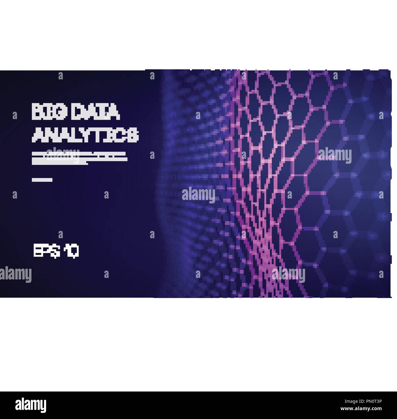 Big Data. Business inteligence technology background. Binary code algorithms deep learning virtual reality analysis. Data science learning machine. Artificial intelligence data research and automation - Stock Image