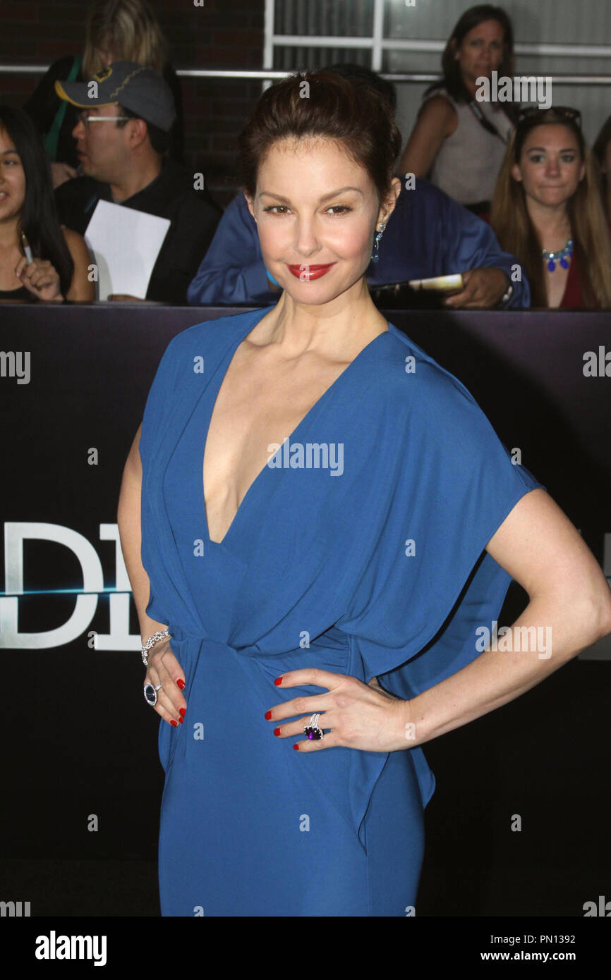 Ashley Judd at the world premiere of Summit Entertainment's 'Divergent'. Arrivals held at the Regency Bruin Theatre in Westwood, CA, March 18, 2014. Photo by: Richard Chavez / PictureLux - Stock Image