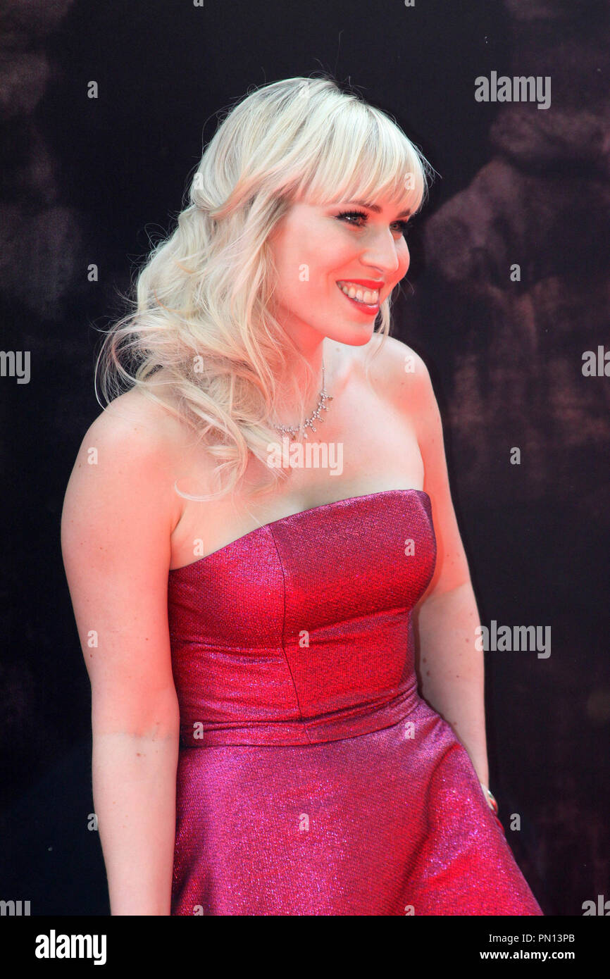 Natasha Bedingfield at the premiere of Disney Toon Studios 'Disney's The Pirate Fairy'. Arrivals held at the Walt Disney Studios Lot in Burbank, CA, March 22, 2014. Photo by: Richard Chavez / PictureLux - Stock Image