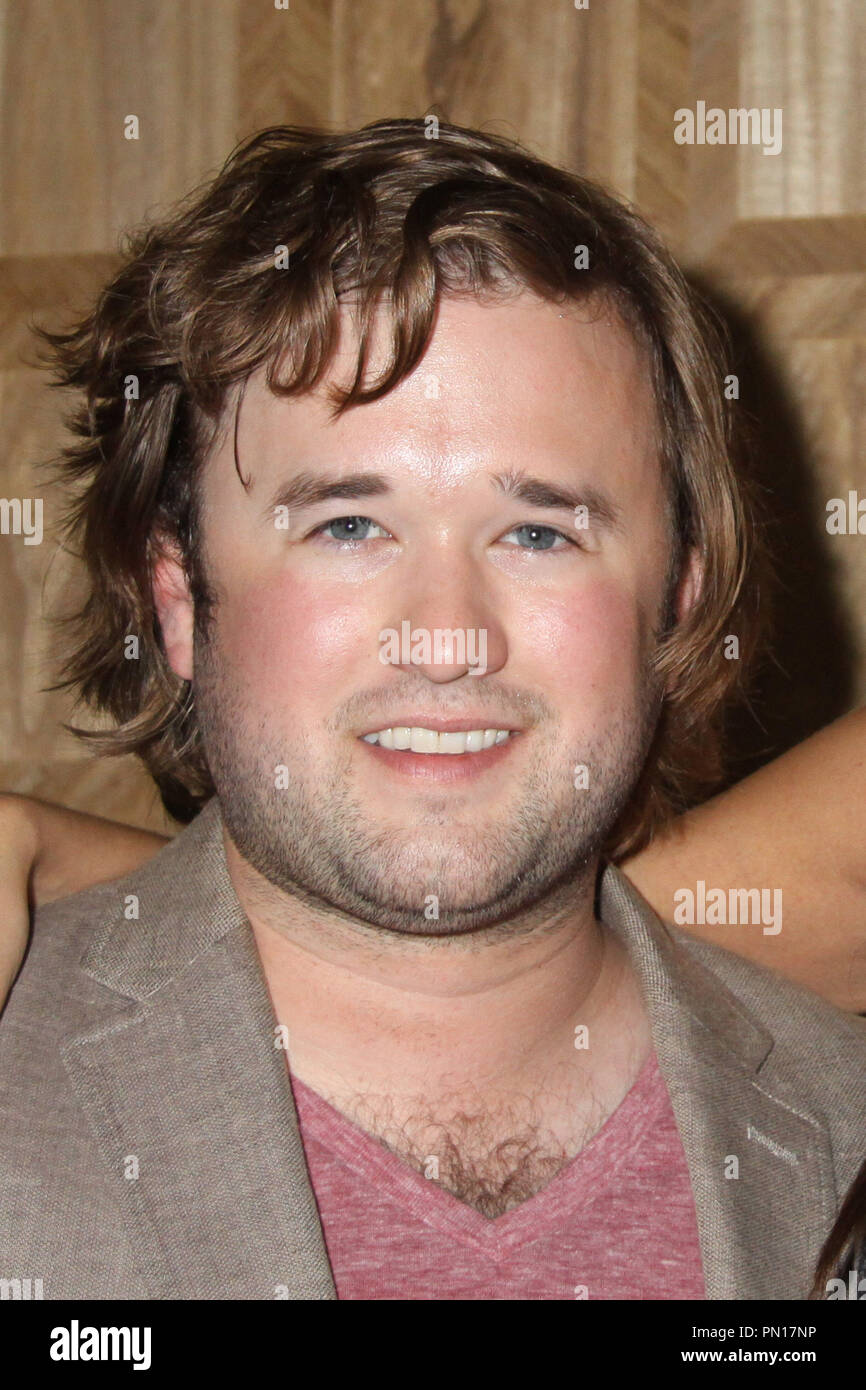 Haley Joel Osment 09/15/2014 Press Day of 'Tusk' held at The London West Hollywood, West Hollywood, CA Photo by Izumi Hasegawa / HollywoodNewsWire.net - Stock Image