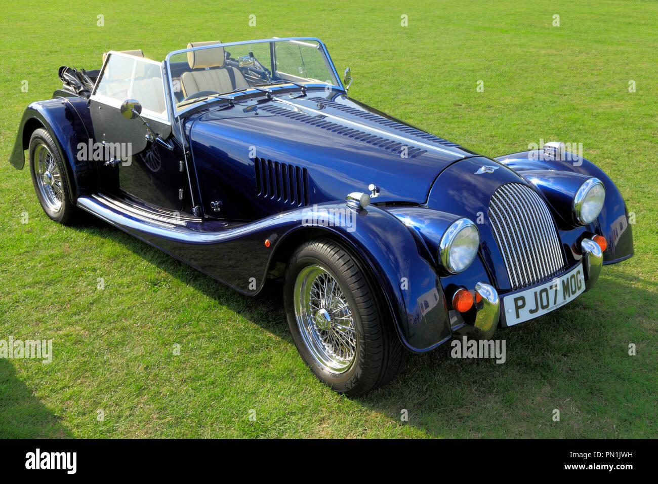 Morgan 4, Sports Car, British, manufacture, automobile, convertible, motors, cars. - Stock Image
