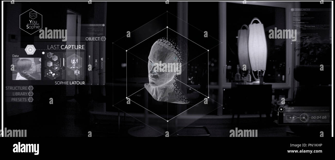 Prod DB © Ghost Robot - Greencard Pictures - Mathematic / DR CREATIVE CONTROL de Benjamin Dickinson 2015 USA science fiction - Stock Image