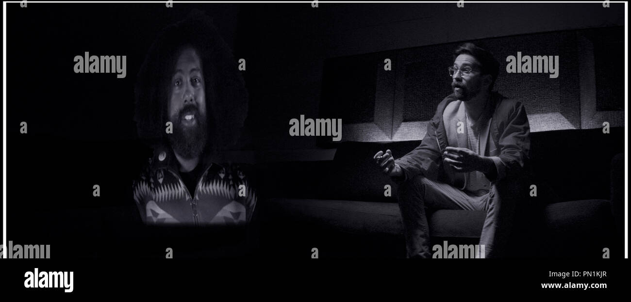 Prod DB © Ghost Robot - Greencard Pictures - Mathematic / DR CREATIVE CONTROL de Benjamin Dickinson 2015 USA avec Reggie Watts et Benjamin Dickinson science fiction - Stock Image