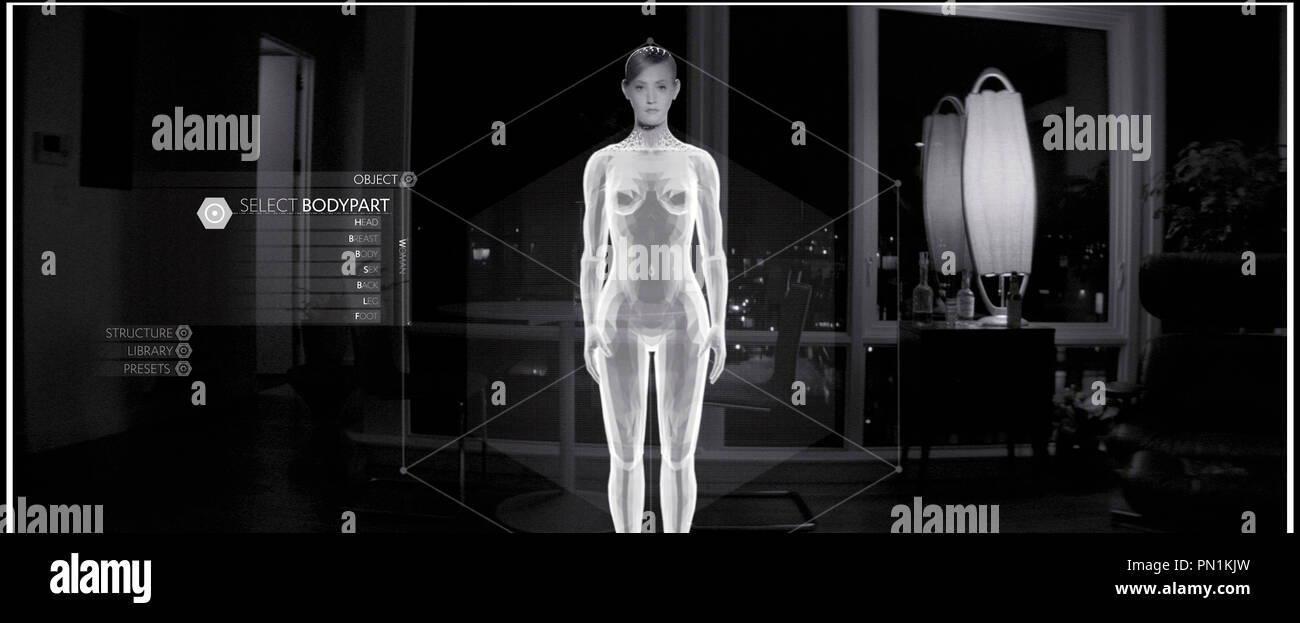 Prod DB © Ghost Robot - Greencard Pictures - Mathematic / DR CREATIVE CONTROL de Benjamin Dickinson 2015 USA avec Alexia Rasmussen science fiction - Stock Image