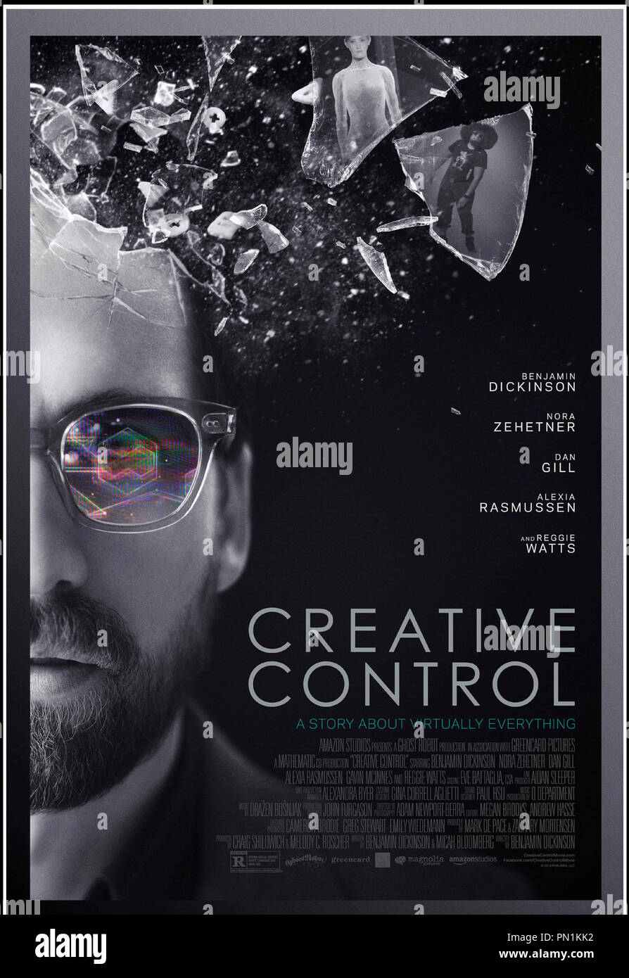 Prod DB © Ghost Robot - Greencard Pictures - Mathematic / DR CREATIVE CONTROL de Benjamin Dickinson 2015 USA affiche americaine science fiction - Stock Image