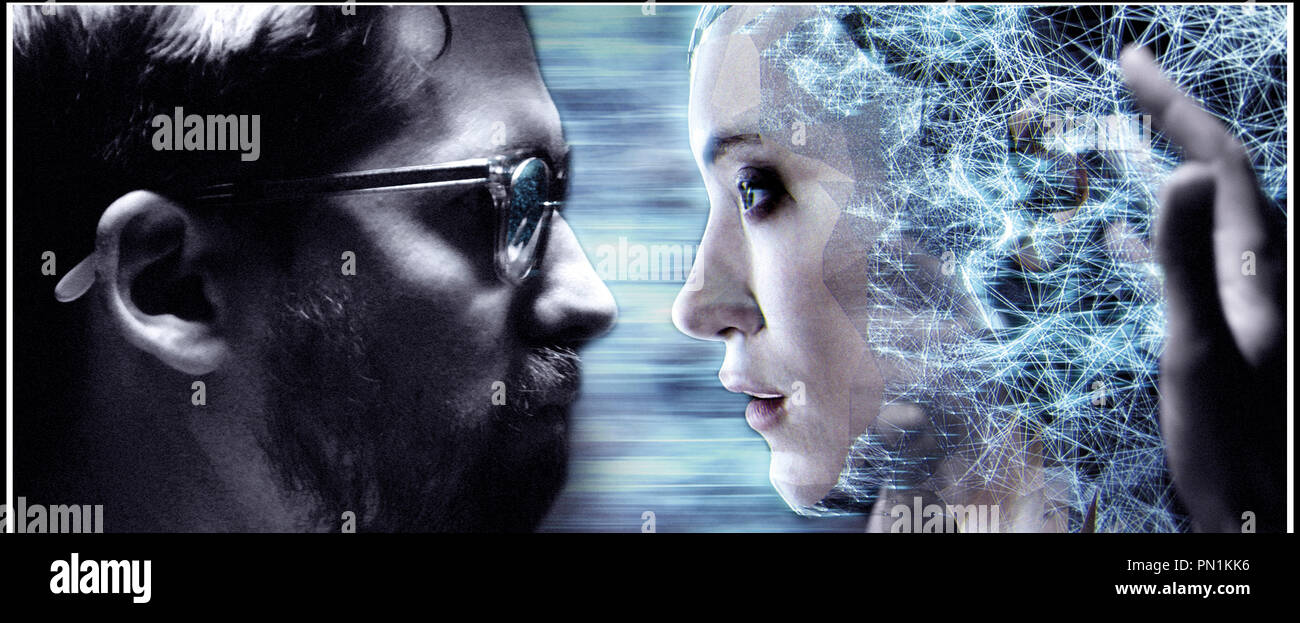 Prod DB © Ghost Robot - Greencard Pictures - Mathematic / DR CREATIVE CONTROL de Benjamin Dickinson 2015 USA avec Benjamin Dickinson et Alexia Rasmussen science fiction - Stock Image