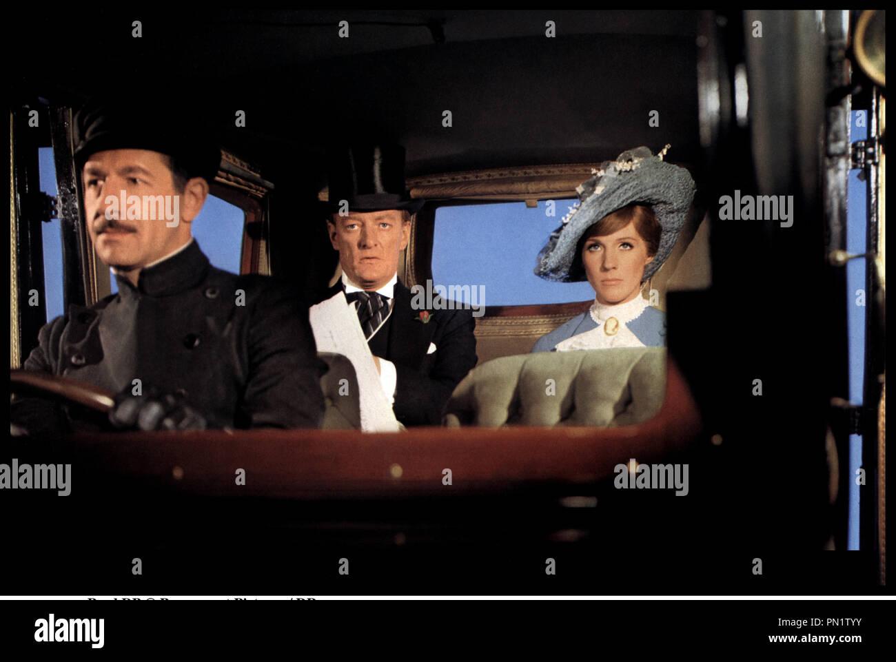 Prod DB © Paramount Pictures / DR DARLING LILI (DARLING LILI) de Blake Edwards 1970 USA avec Jeremy Kemp et Julie Andrews voiture, chauffeur - Stock Image