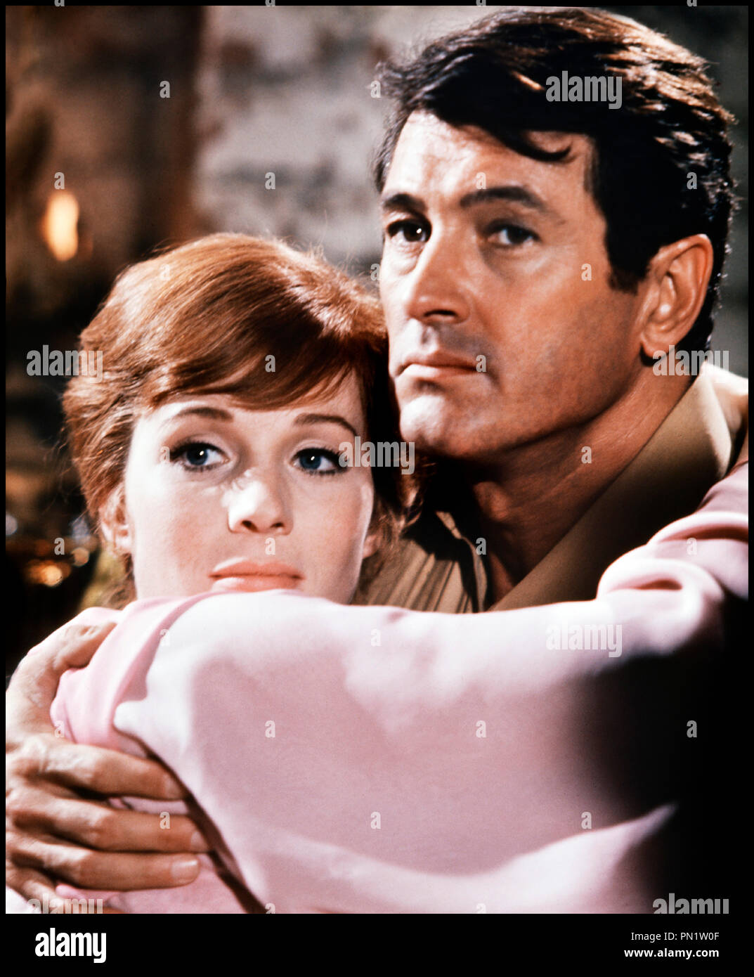 Prod DB © Paramount Pictures / DR DARLING LILI (DARLING LILI) de Blake Edwards 1970 USA avec Julie Andrews et Rock Hudson couple, tendresse - Stock Image