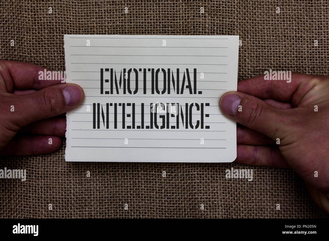 emotional intelligence paper