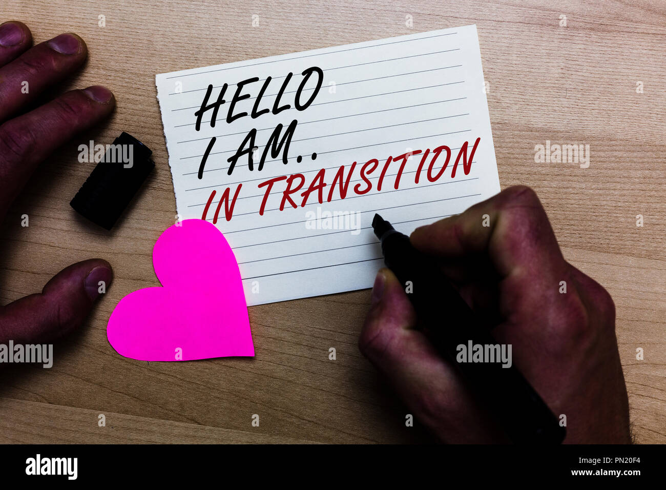 which is a correct definition of transitions in writing