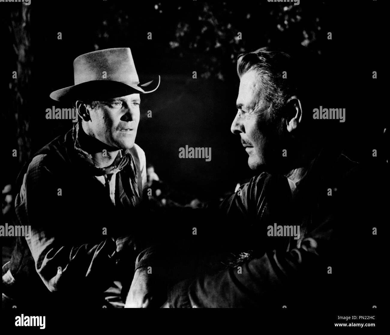 Prod DB © Phoenix/ DR COWBOY (COWBOY) de Delmer Daves 1958 USA avec Jack Lemmon et Brian Donlevy western, d'apres le roman de Frank Harris - Stock Image