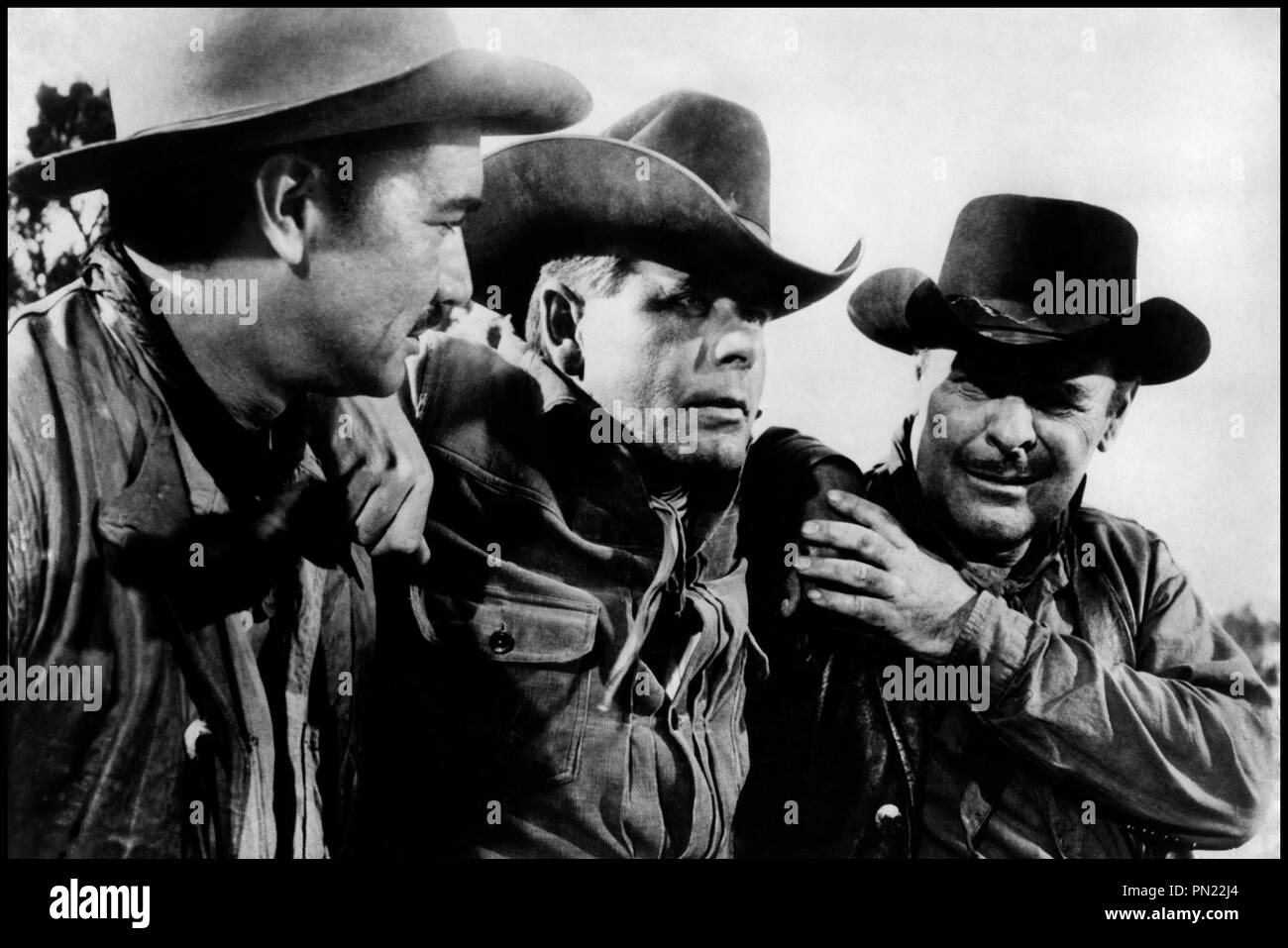 Prod DB © Phoenix/ DR COWBOY (COWBOY) de Delmer Daves 1958 USA avec Víctor Manuel Mendoza, Glenn Ford et Brian Donlevy western d'apres le roman de Frank Harris - Stock Image