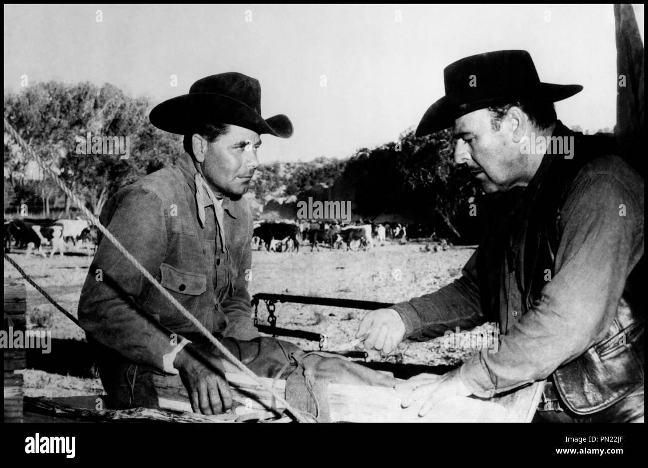 Prod DB © Phoenix/ DR COWBOY (COWBOY) de Delmer Daves 1958 USA avec Glenn Ford et Brian Donlevy western, d'apres le roman de Frank Harris - Stock Image