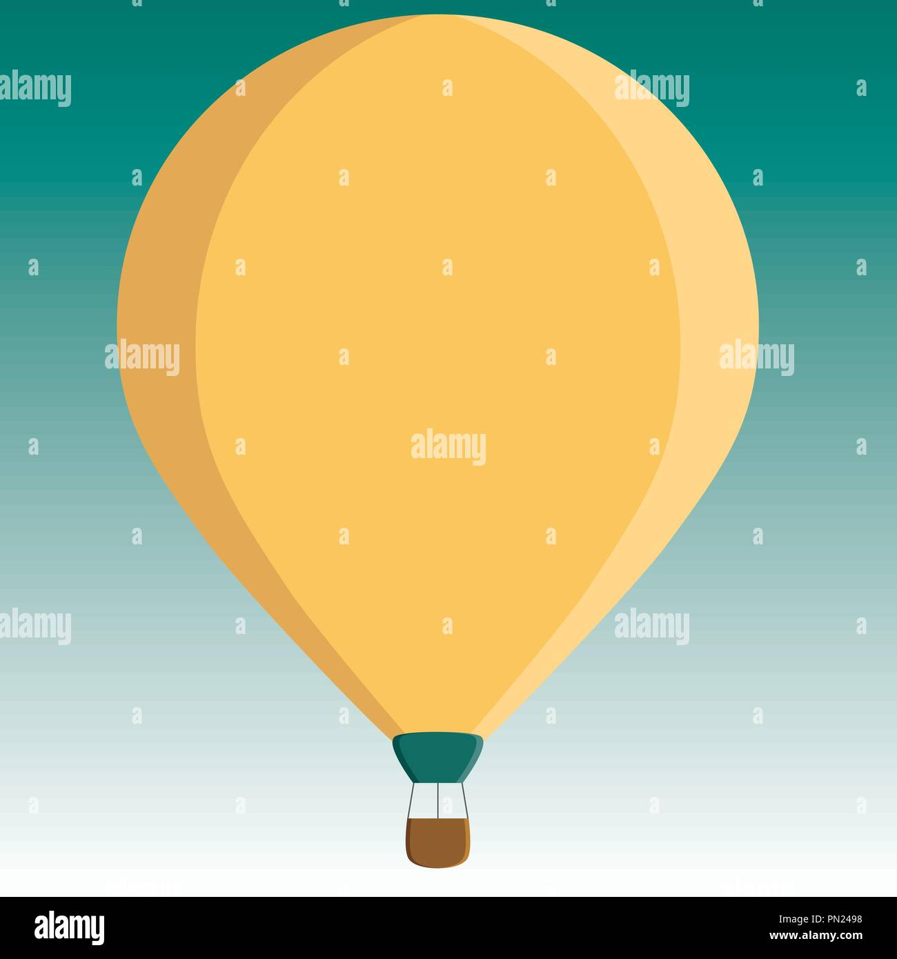 Flat Design Business Vector Illustration Empty Template Layout For Voucher Three Invitation Greeting Card Promotion Poster Toned Color Hot Air Balloo