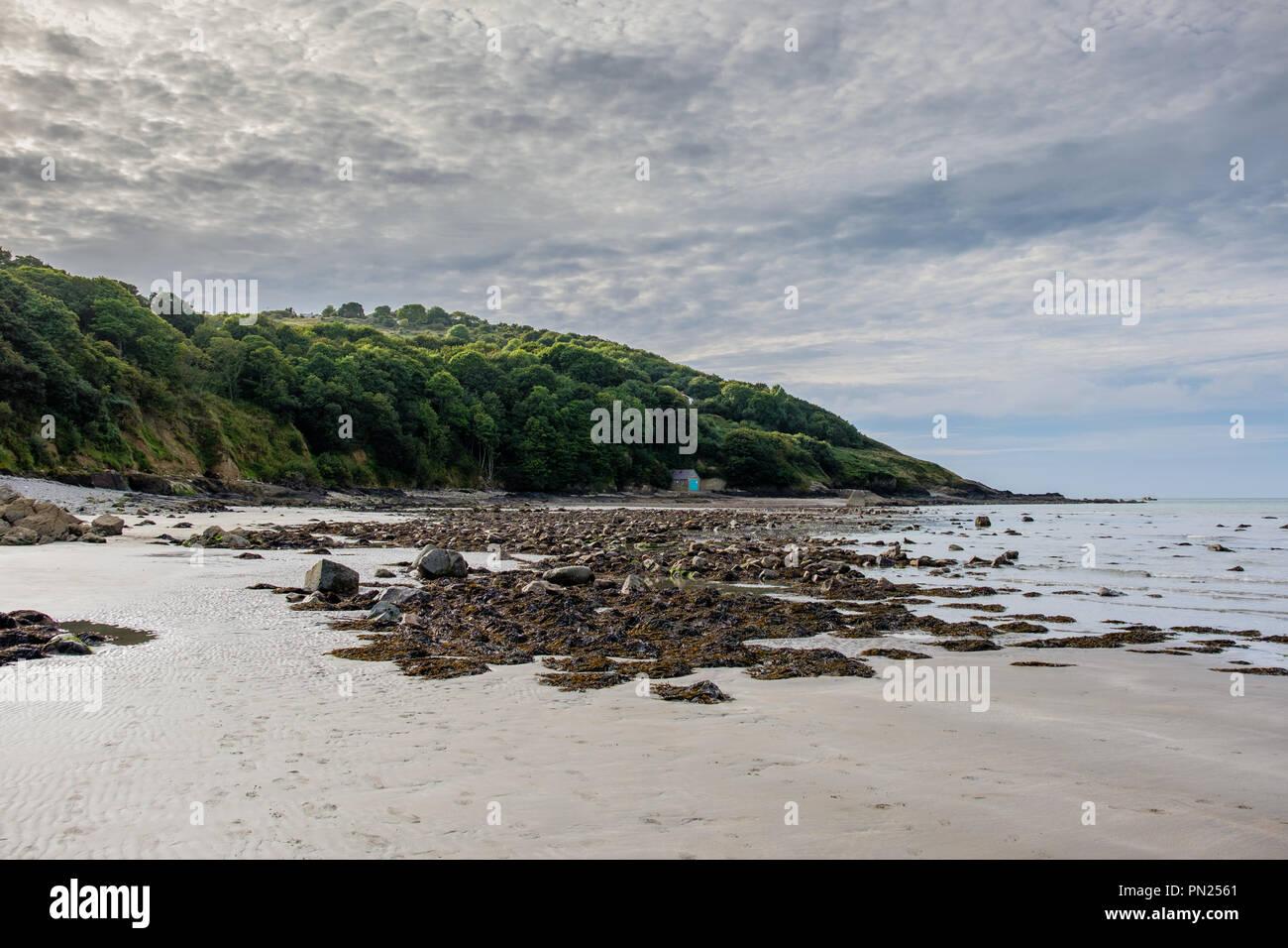 Poppit Sands, near Cardigan, Ceredigion, Wales - Stock Image