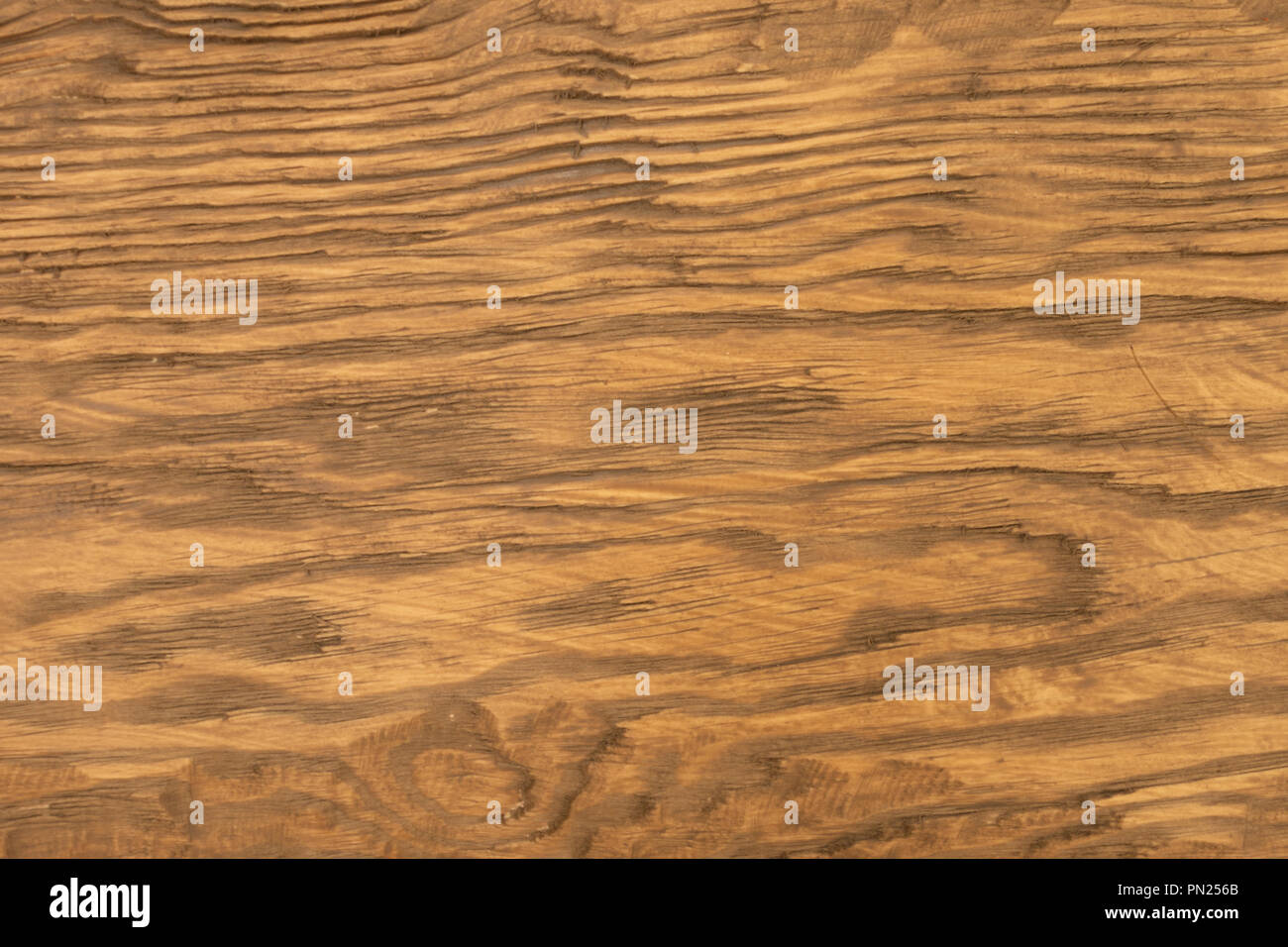Wood Texture Of Brushed Pine Boards With Knots Abstract