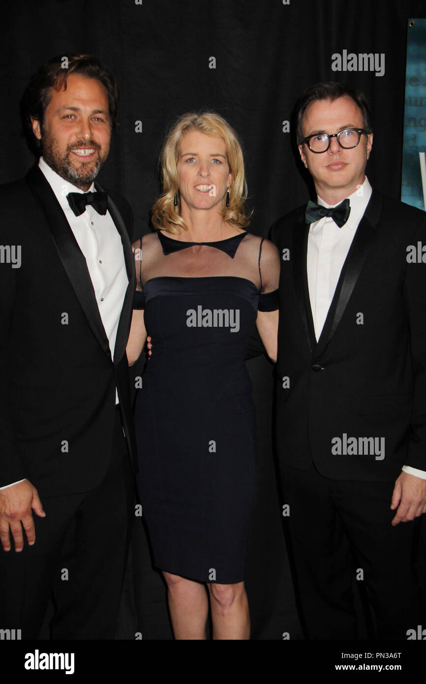 Mark Bailey, Rory Kennedy, Keven McAlester  02/14/2015 2015 Writers Guild Awards West Coast ceremony held at The Hyatt Regency Century Plaza in Los Angeles, CA Photo by Izumi Hasegawa / HNW / PictureLux - Stock Image