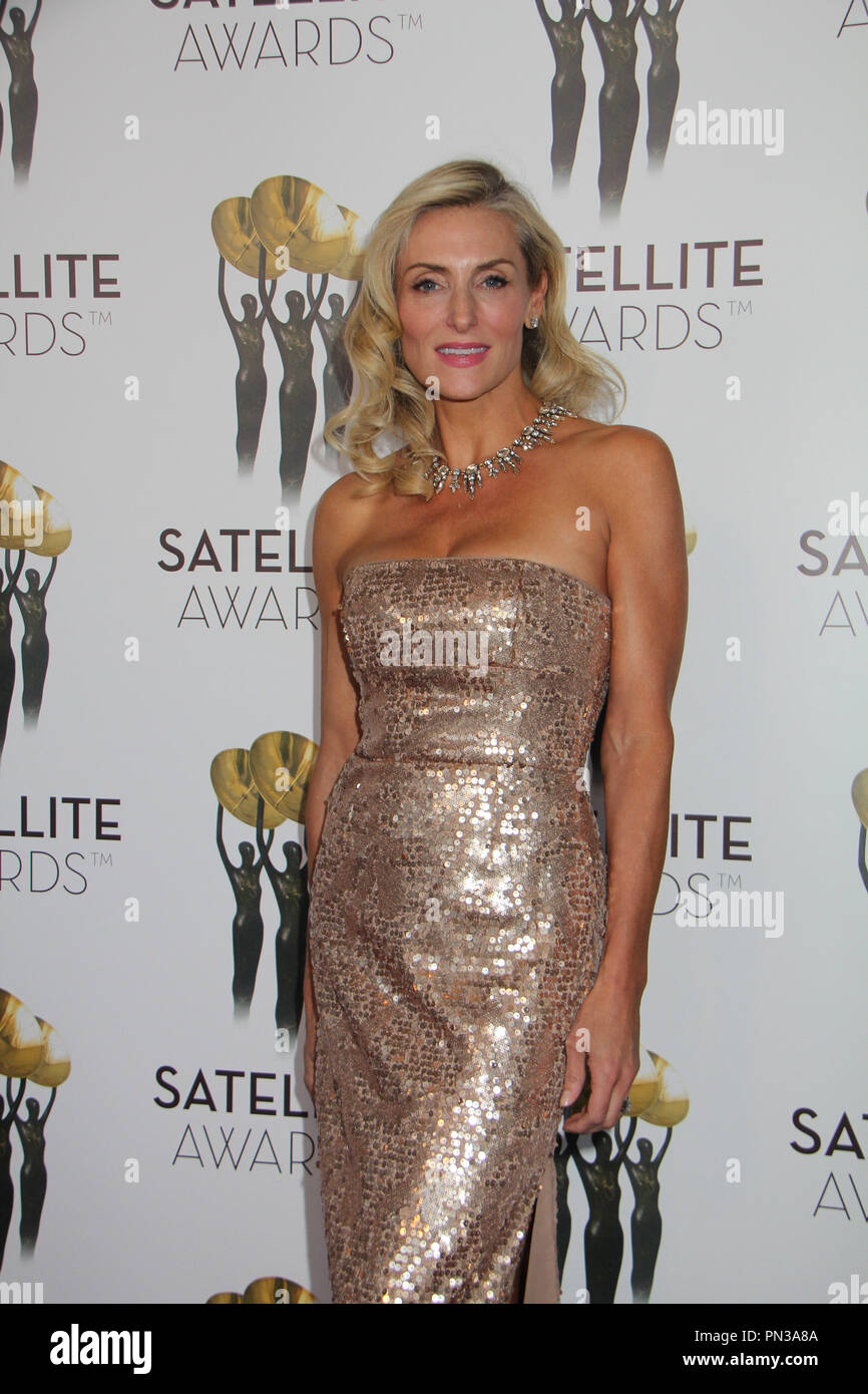 Libby Hudson Lydecker  02/15/2015 The 19th Annual Satellite Awards held at InterContinental Los Angeles Century City at Beverly Hills in Los Angeles, CA Photo by Izumi Hasegawa / HNW / PictureLux Stock Photo