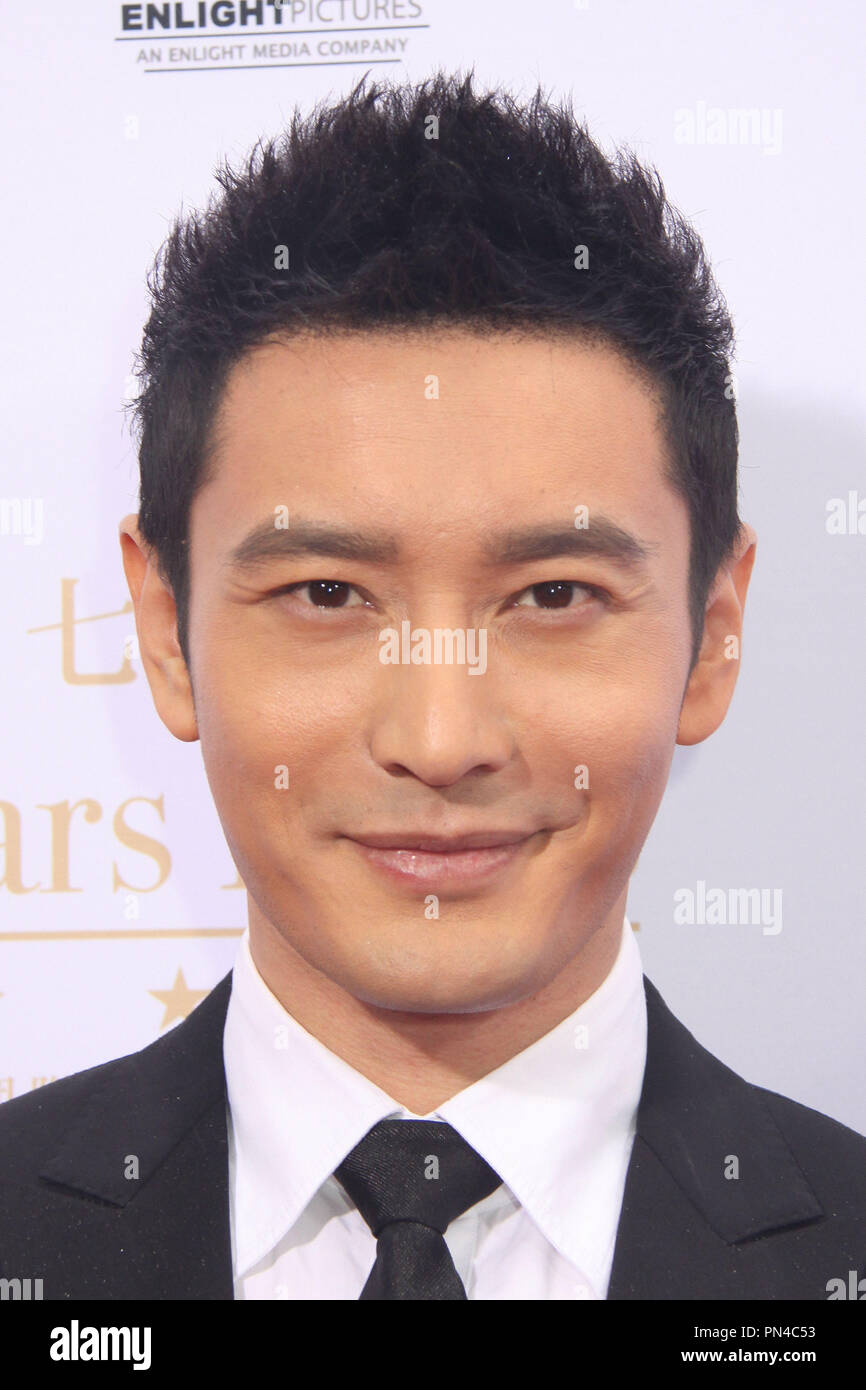 huang xiaoming 06/03/2015 88th birthday commemoration of tcl