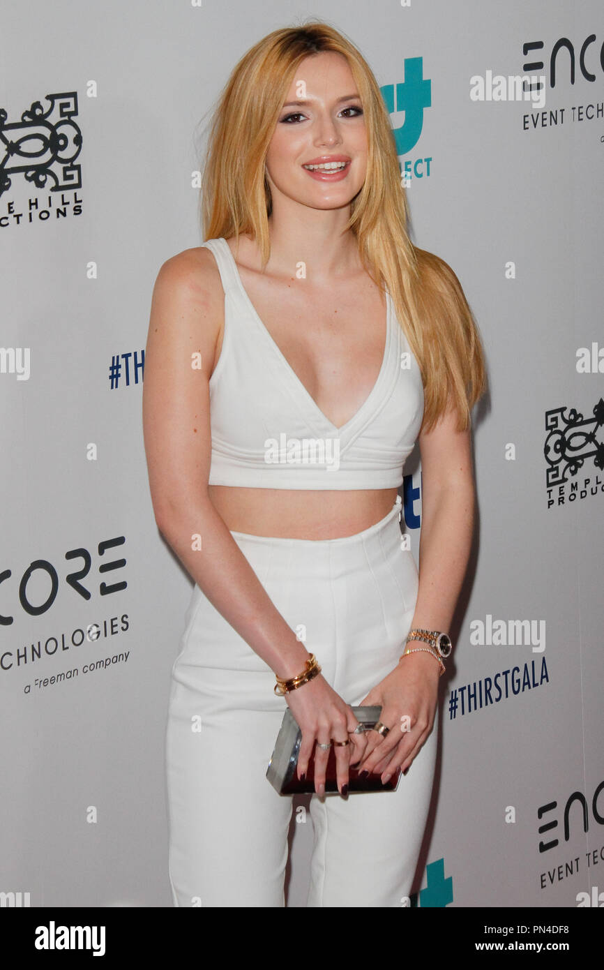 Bella Thorne at the 6th Annual Thirst Gala held at the Beverly Hilton Hotel in Beverly Hills, CA, June 30, 2015. Photo by Joe Martinez / PictureLux - Stock Image