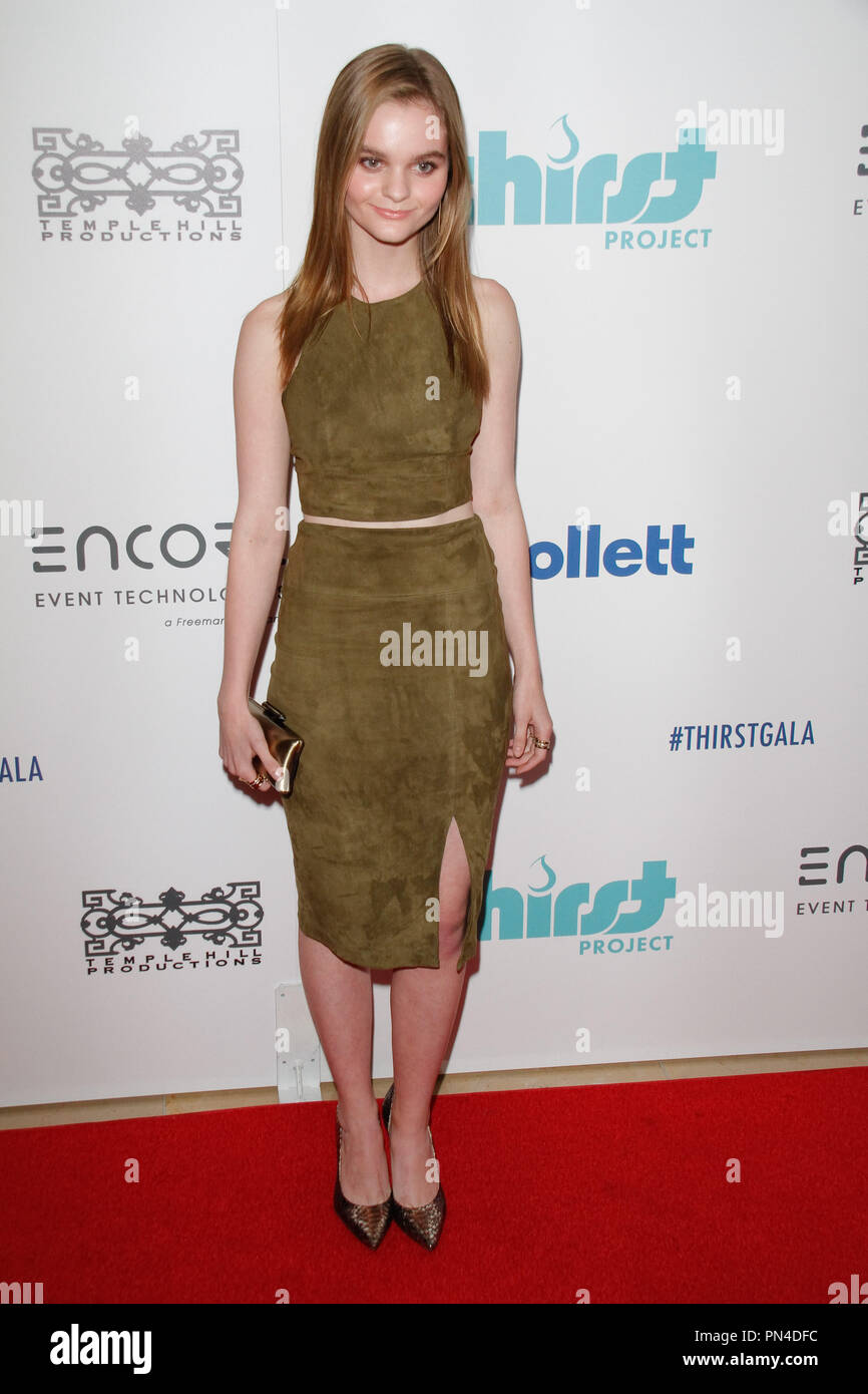 Kerris Dorsey at the 6th Annual Thirst Gala held at the Beverly Hilton Hotel in Beverly Hills, CA, June 30, 2015. Photo by Joe Martinez / PictureLux - Stock Image
