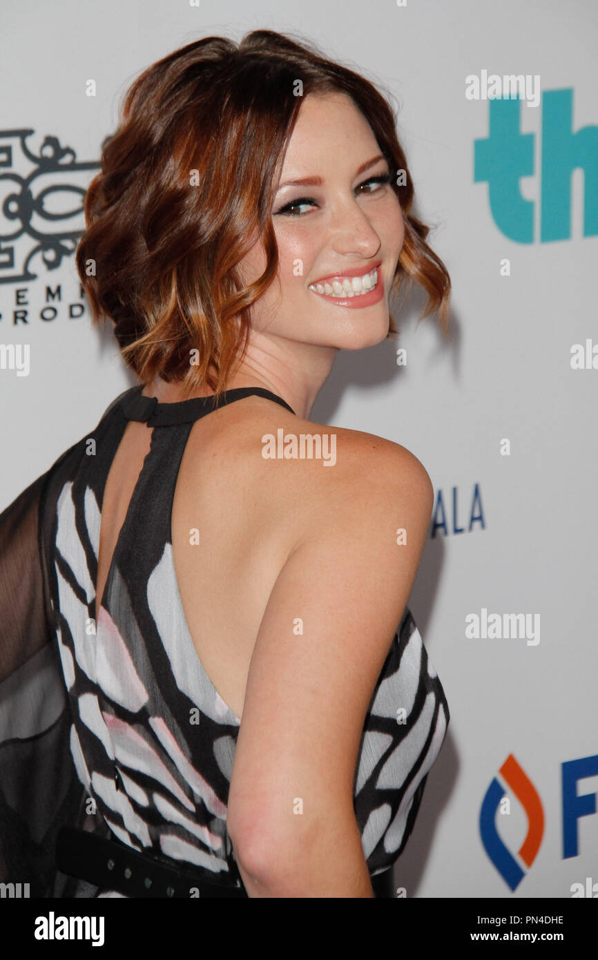 Chyler Leigh at the 6th Annual Thirst Gala held at the Beverly Hilton Hotel in Beverly Hills, CA, June 30, 2015. Photo by Joe Martinez / PictureLux - Stock Image