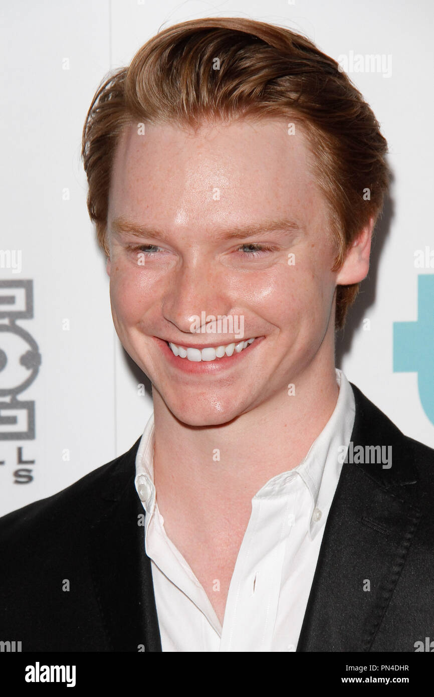 Calum Worthy at the 6th Annual Thirst Gala held at the Beverly Hilton Hotel in Beverly Hills, CA, June 30, 2015. Photo by Joe Martinez / PictureLux - Stock Image