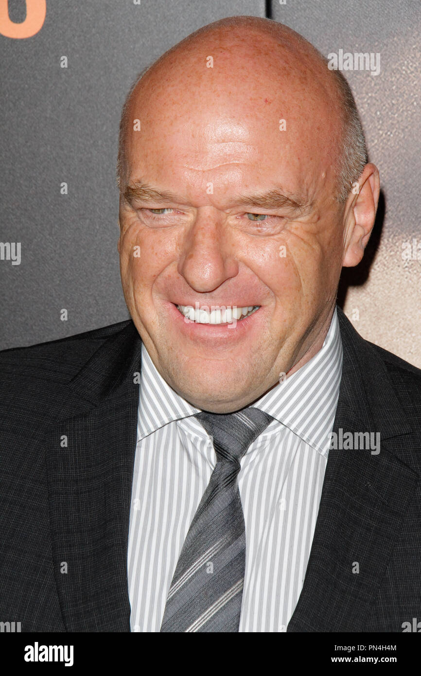 Dean Norris at the Premiere of 'Secret In Their Eyes' held at the Hammer Museum in Westwood, CA, November 11, 2015. Photo by Joe Martinez / PictureLux - Stock Image