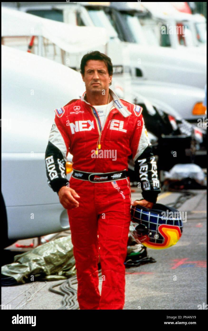 Prod DB © Franchise Pictures / DR DRIVEN (DRIVEN) de Renny Harlin 2001 USA avec Sylvester Stallone pilote, formule 1, casque - Stock Image