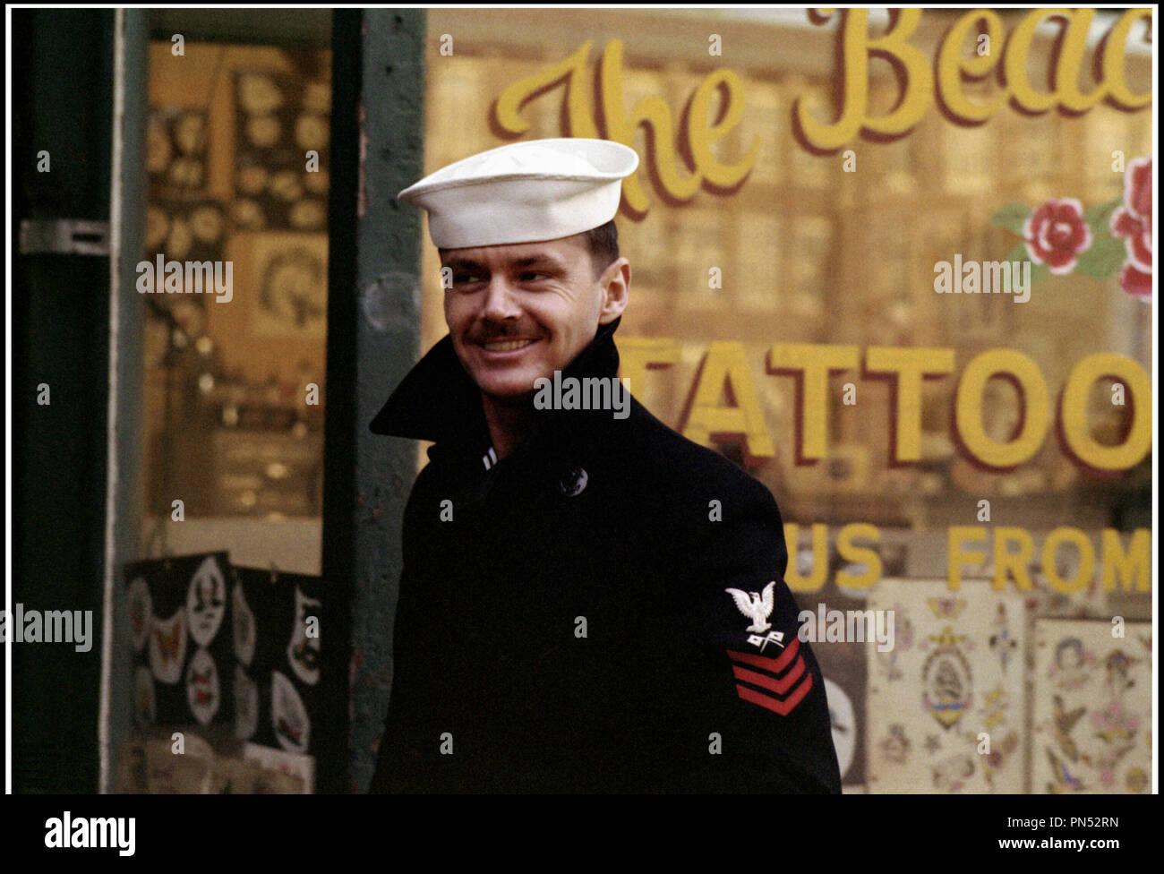 Prod DB © Columbia Pictures / DR LA DERNIERE CORVEE (THE LAST DETAIL) de Hal Ashby 1973 USA avec Jack Nicholson marin, d'apres le roman de Darryl Ponicsan - Stock Image