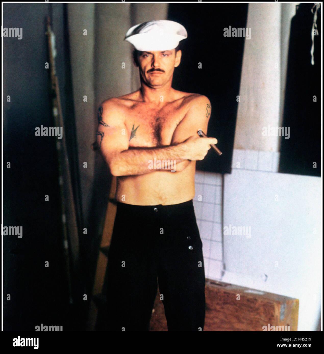 Prod DB © Columbia Pictures / DR LA DERNIERE CORVEE (THE LAST DETAIL) de Hal Ashby 1973 USA avec Jack Nicholson marin, torse nu d'apres le roman de Darryl Ponicsan - Stock Image