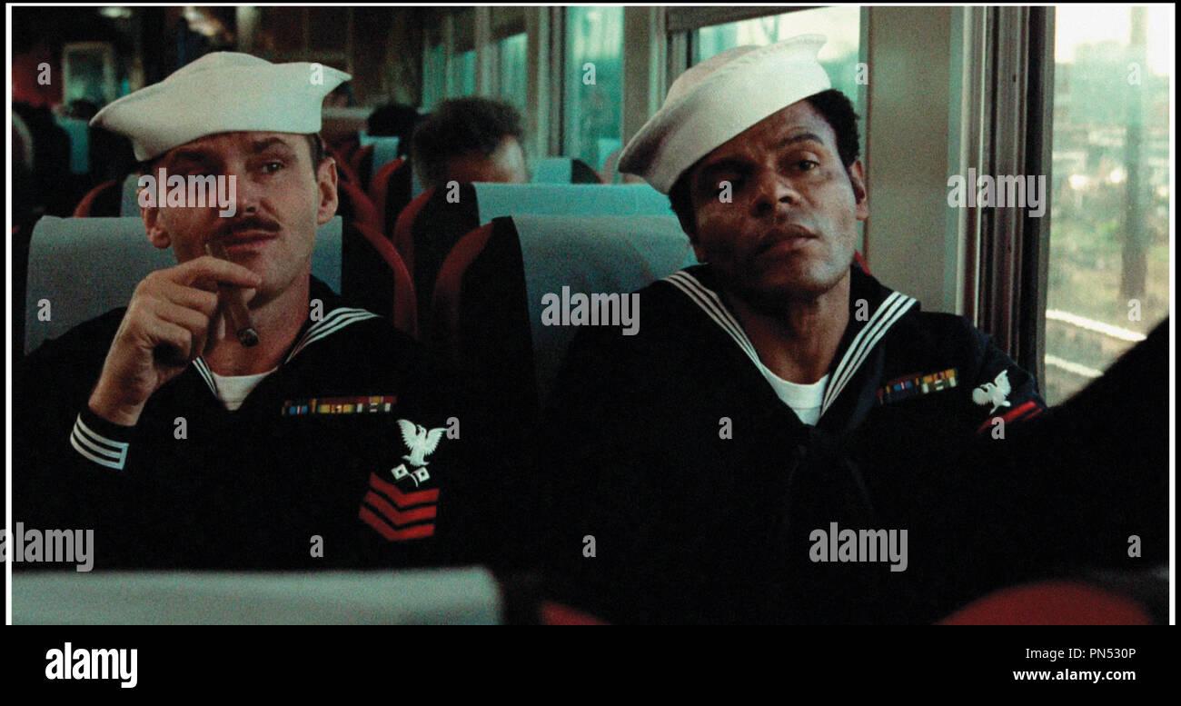 Prod DB © Columbia Pictures / DR LA DERNIERE CORVEE (THE LAST DETAIL) de Hal Ashby 1973 USA avec Jack Nicholson et Otis Young marin, cigare d'apres le roman de Darryl Ponicsan - Stock Image