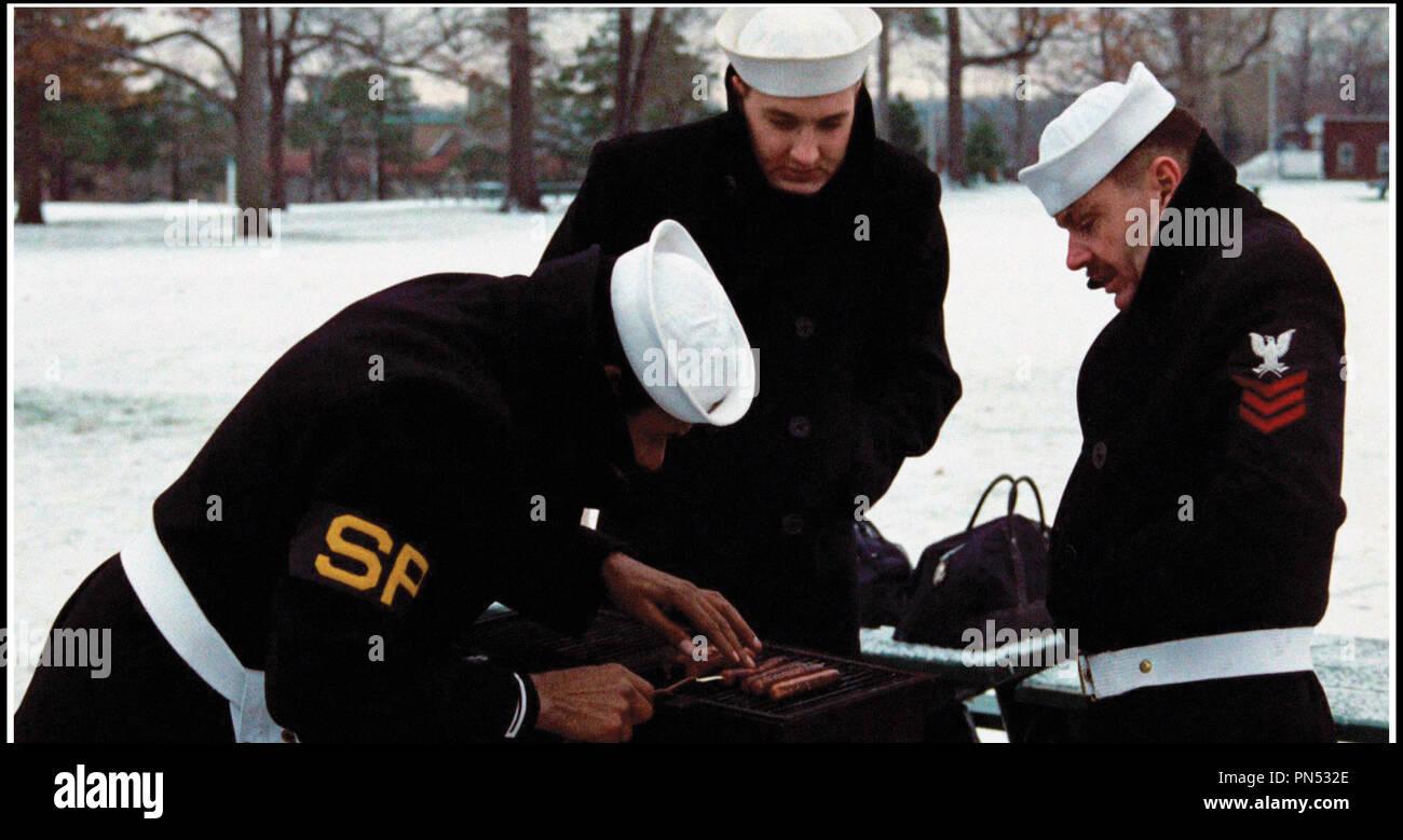 Prod DB © Columbia Pictures / DR LA DERNIERE CORVEE (THE LAST DETAIL) de Hal Ashby 1973 USA avec Otis Young, Randy Quaid et Jack Nicholson marin, barbecue d'apres le roman de Darryl Ponicsan - Stock Image