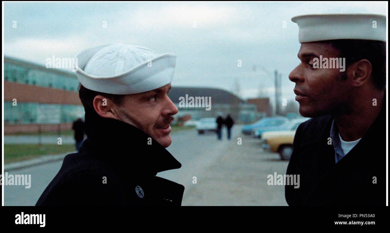 Prod DB © Columbia Pictures / DR LA DERNIERE CORVEE (THE LAST DETAIL) de Hal Ashby 1973 USA avec Jack Nicholson et Otis Young marin, d'apres le roman de Darryl Ponicsan - Stock Image