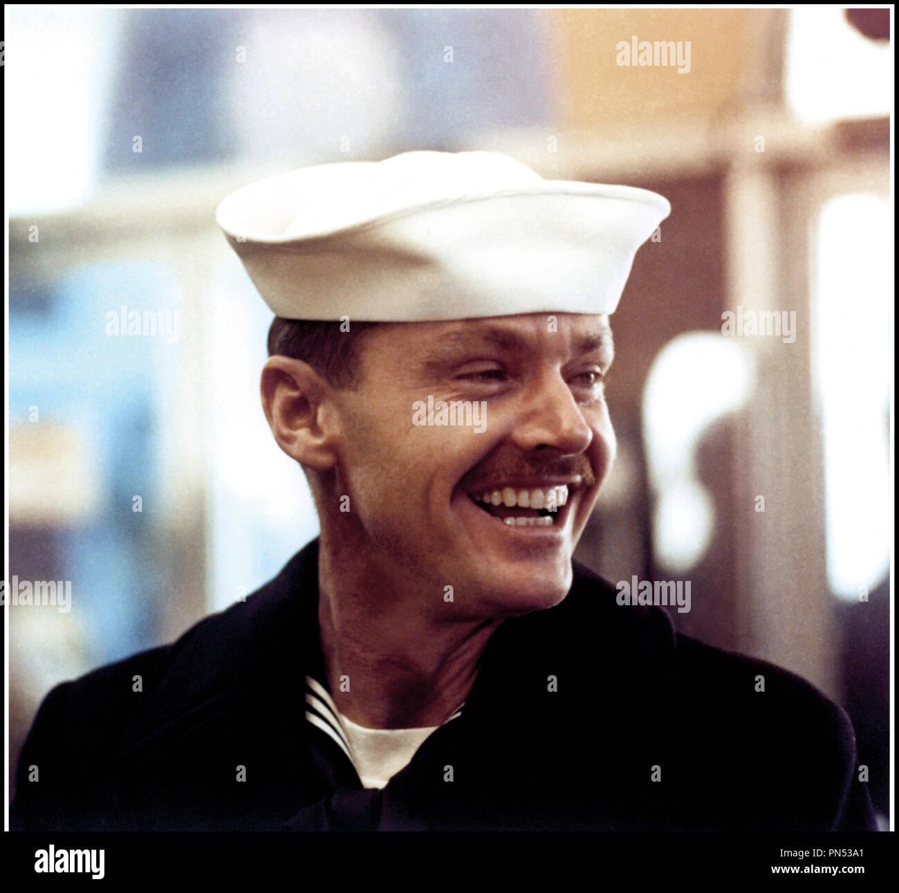 Prod DB © Columbia Pictures / DR LA DERNIERE CORVEE (THE LAST DETAIL) de Hal Ashby 1973 USA Jack Nicholson marin, d'apres le roman de Darryl Ponicsan - Stock Image