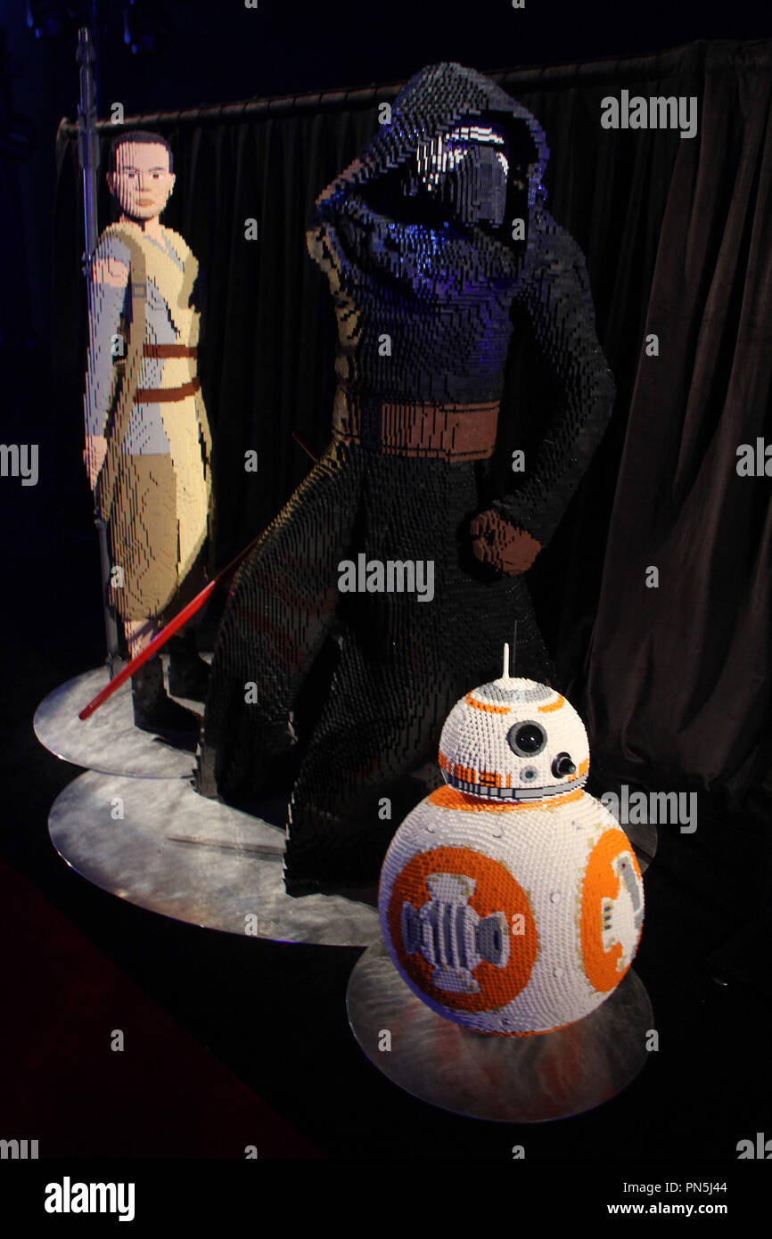 """Atmosphere  12/14/2015 """"Star Wars The Force Awakens"""" Premiere held at the Dolby Theatre in Hollywood, CA Photo by Kazuki Hirata / HNW / PictureLux Stock Photo"""
