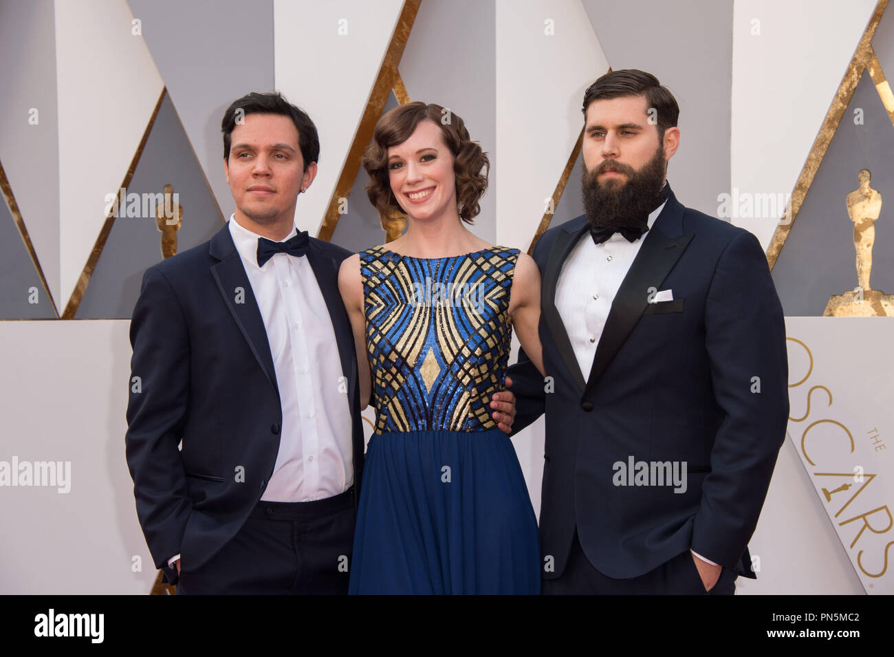 Actress Chloe Pirrie and guests arrive at The 88th Oscars® at the Dolby® Theatre in Hollywood, CA on Sunday, February 28, 2016.  File Reference # 32854_009THA  For Editorial Use Only -  All Rights Reserved - Stock Image