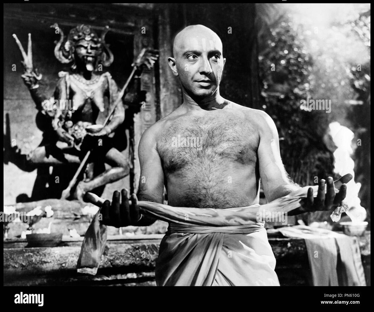 Prod DB © DR LES ETRANGLEURS DE BOMBAY (THE STRANGLERS OF BOMBAY) de Terence Fisher 1960 GB avec George Pastell Thug, secte fanatique, dŽesse Shiva - Stock Image