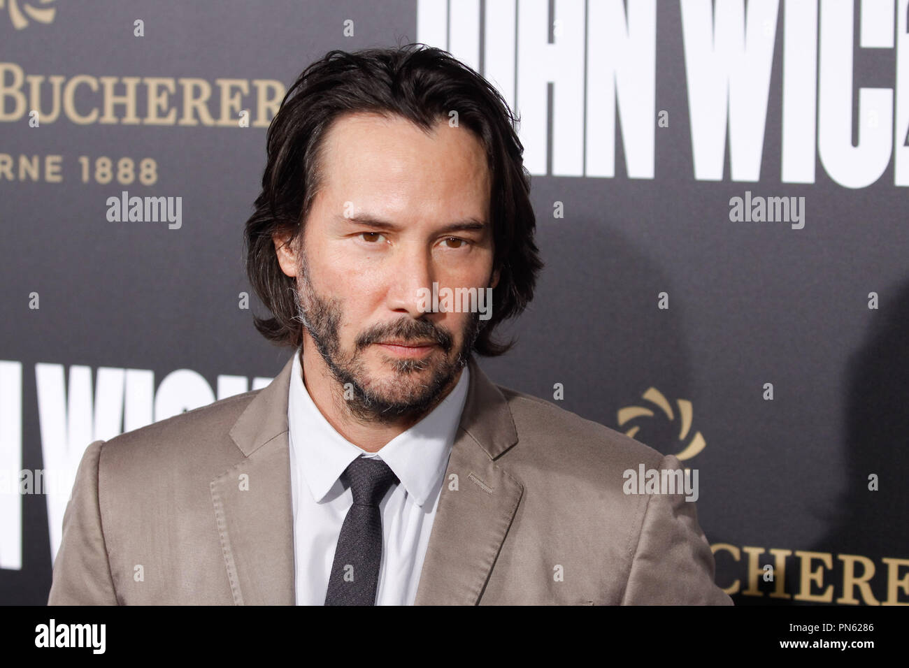 Keanu Reeves At Summit Entertainments Los Angeles Premiere Of John