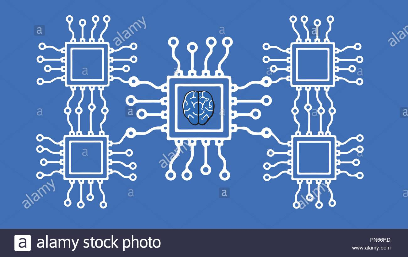 Electronic Circuit Vector Vectors Stock Photos & Electronic Circuit ...