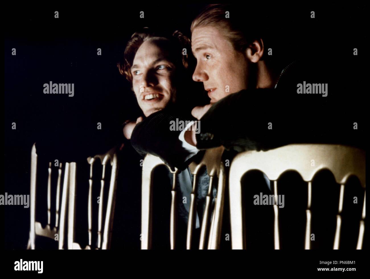 Prod DB © Working Title / DR EDWARD II (EDWARD II) de Derek Jarman 1991 GB avec Andrew Tiernam et Steve Waddington douleur, souffrance, serrerr les dents, rage, colre d'aprs la pice de Christopher Marlowe - Stock Image