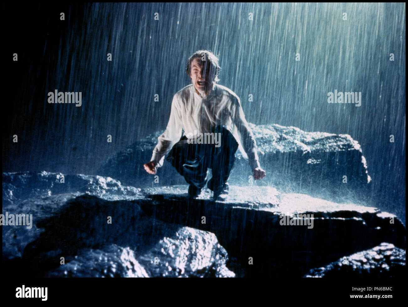 Prod DB © Working Title / DR EDWARD II (EDWARD II) de Derek Jarman 1991 GB avec Andrew Tiernan folie, fou, pluie d'après la pièce de Christopher Marlowe - Stock Image