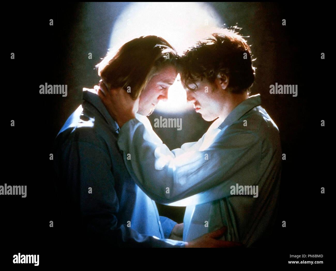 Prod DB © Working Title / DR EDWARD II (EDWARD II) de Derek Jarman 1991 GB avec Steve Waddington et Andrew Tiernan homosexualite masculine, passion d'apres la piece de Christopher Marlowe - Stock Image